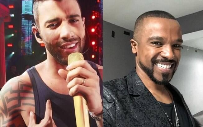 Alexandre Pires e Gusttavo Lima se desentendem após show