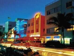 South Beach à noite: badalação para todos os estilos