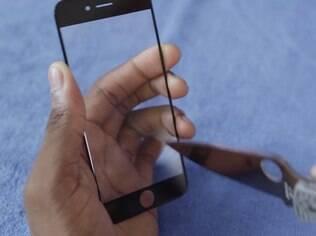 Protótipo de suposta nova tela do iPhone 6