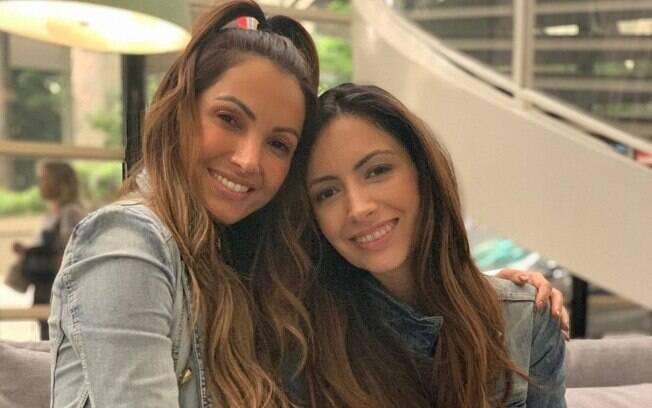 Paloma e Patrícia Poeta