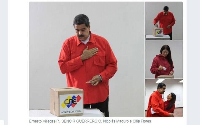 Presidente da Venezuela, Nicolás Maduro, inaugura eleições para eleger membros para redigir a nova Consituinte