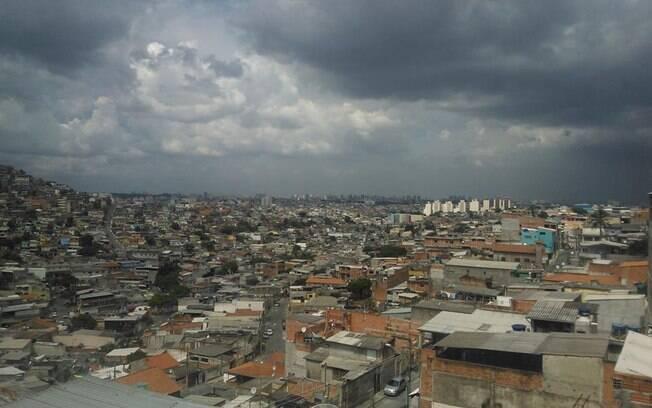 Imagem do bairro Brasilândia, na zona norte de São Paulo: maior incidência de dengue da capital