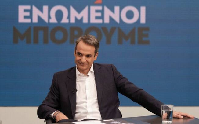 Mitsotakis garantiu a vitória com 39,5% dos votos