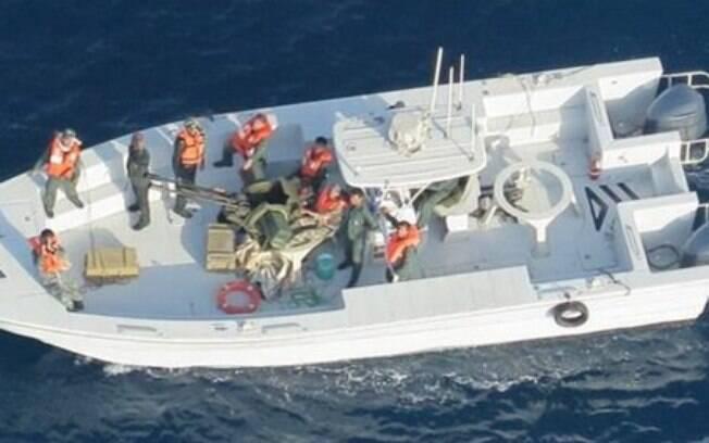 Novas imagens mostram que barco que causou explosão era da frota iraniana