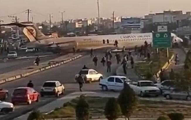 Problemas técnicos teriam motivado o incidente no Irã