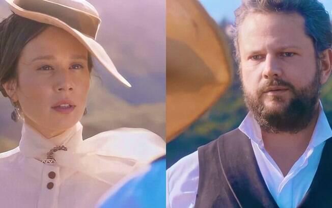 """Nos Tempos do Imperador: Dom Pedro II chifra a esposa Teresa Cristina e se declara a condessa: """"Estou apaixonado. Cada dia mais"""""""