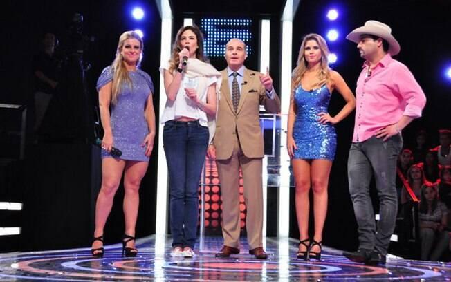 Deborah Albuquerque, Luciana Gimenez, Marcelo de Carvalho, Cacau Colucci e Edson