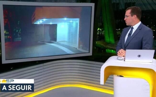 Rodrigo Bocardi chamou o repórter ao vivo e ele não apareceu