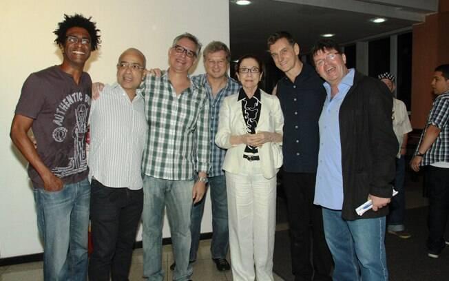 Fernanda Montenegra com os