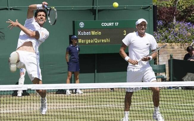 Marcelo Melo e Lukasz Kubot estão na final de duplas em Wimbledon. Brasileiro volta à liderança do ranking individual de duplas