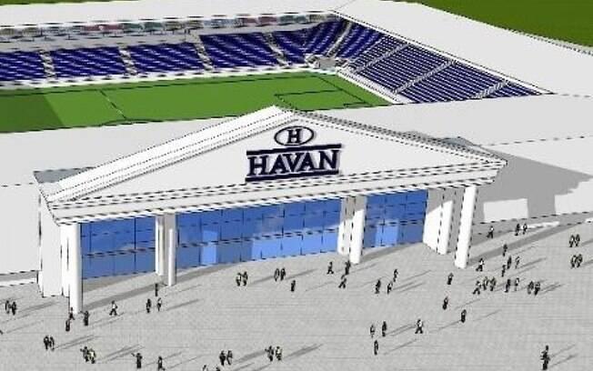Arena da Havan em Brusque seria para 15 mil pessoas