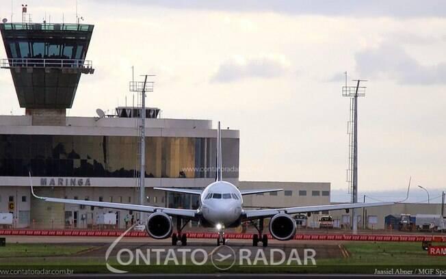 Azul pousa em Maringá com o A320neo pela primeira vez