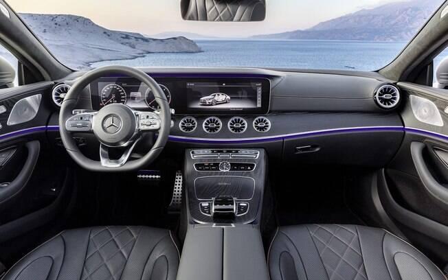 Mercedes CLS 53 AMG conta com equipamentos de última geração, que atraem pela sofisticação