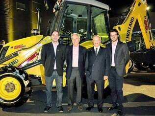 Direção. Na festa da Bamaq, Nicola D'Arpino, vice-presidente da New Holland Construction para América Latina