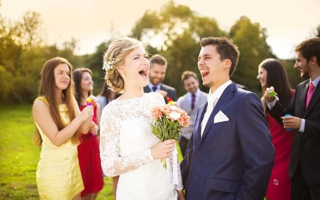 Noiva surtada: o plano da noiva foi criar uma competição entre amigos e familiares para quatro 'vagas' de padrinhos