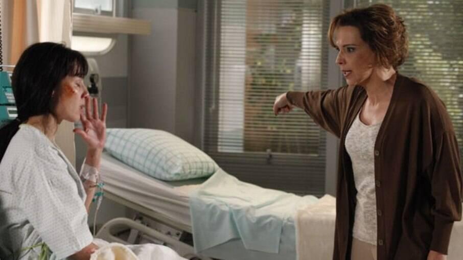 Eva culpa Manu pelo acidente de Ana