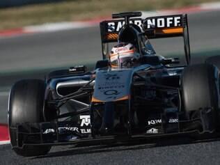 Meta é que o carro esteja em condições de ser testado por Nico Hulkenberg na parte da tarde, em Barcelona