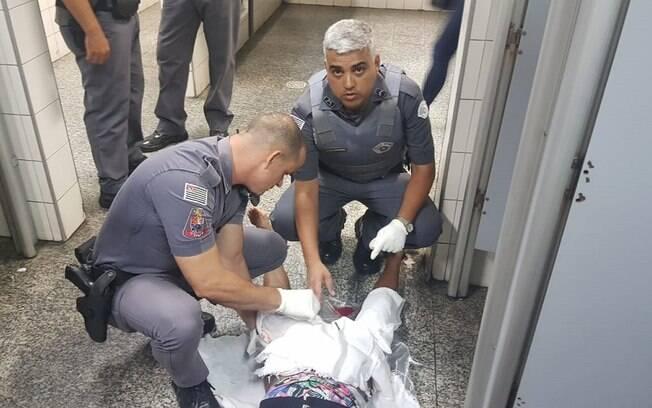 Policiais militares realizaram parto na estação Barra Funda