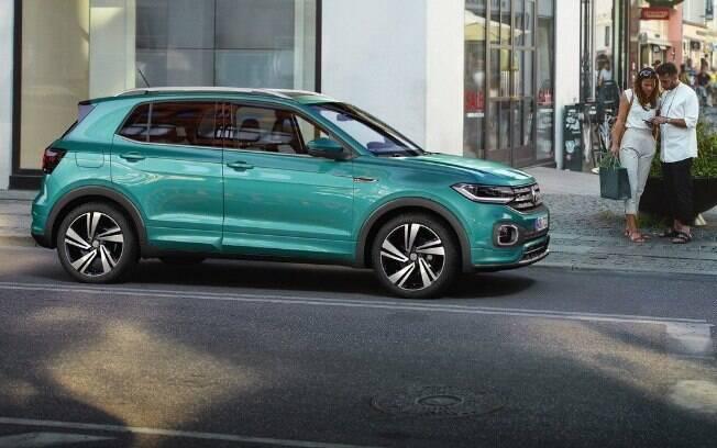 VW T-Cross  é um dos lançamentos de 2019 que vão dar o que falar. Chegará para brigar com HR-V, Creta e companhia
