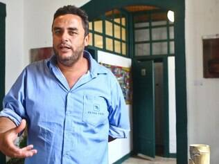 Alírio Ferreira Campos Junior, motorista terceirizado da Anglo American pela Tetra Tech