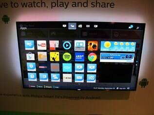 Rodando Android, as TVs da Philips ganham uma segunda loja de aplicativos e o navegador Chrome