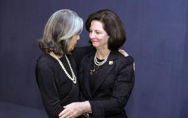 Cármen Lúcia, e a procuradora-geral da República, Raquel Dodge: ambas devem receber 16,38% a mais em 2019