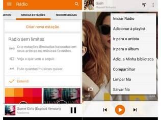 Serviço de streaming e de armazenamento de música, o Google Play Música chega ao Brasil por R$ 12,90 ao mês em promoção válida até 7 de janeiro, depois, R$ 14,90