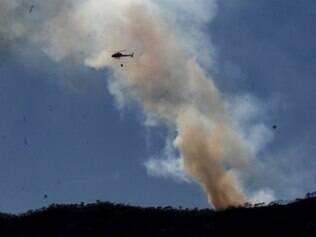 Focos persistem na Serra do Curral desde a manhã dessa sexta (3)