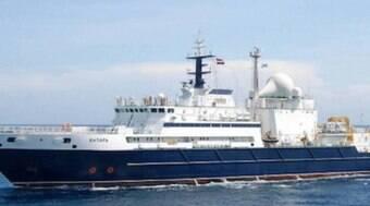 Marinha Brasileira fica em alerta por causa de navio russo