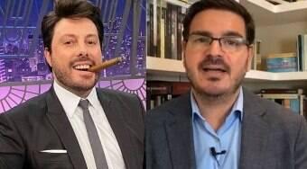 Danilo Gentili caçoa de Constantino por causa de crítica a Simone Biles