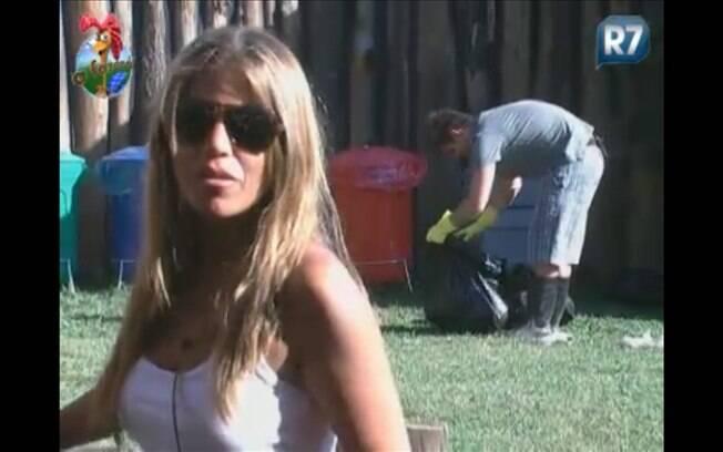 Raquel Pacheco faz revelação durante conversa com Marlon