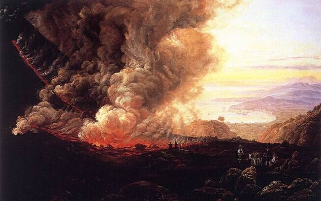Entre o final de 2015 ou 2016, Nostradamus previu uma grande erupção em Nápoles, Itália. A região seria 'mergulhada na escuridão'. Foto: Wikimedia Commons
