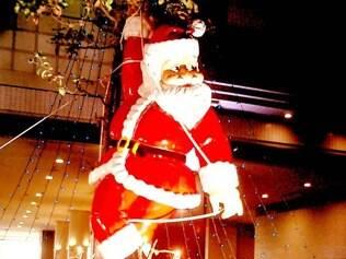 Decoração em Kobe, no Japão, onde o Natal agrada muito aos comerciantes