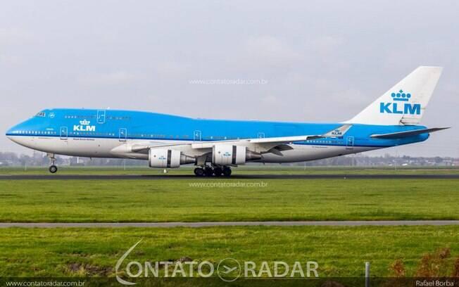 KLM já tem data para seu último voo com o Boeing 747