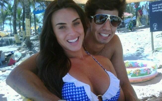 Nicole Bahls e Victor Ramos