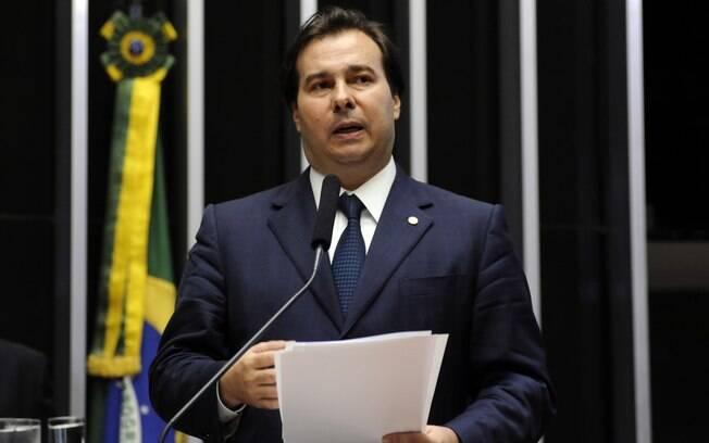Rodrigo Maia foi eleito o presidente da câmara dos Deputados na última quarta-feira (13)