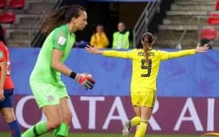 Suécia passa sufoco, mas vence o Chile por 2 a 0 na Copa do Mundo feminina