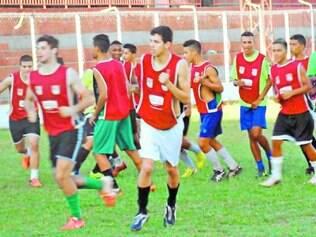Frigoarnaldo.   Atletas da base treinaram diariamente desde o dia 6 de janeiro para chegar preparados na disputa da Copa Nacional da Paz