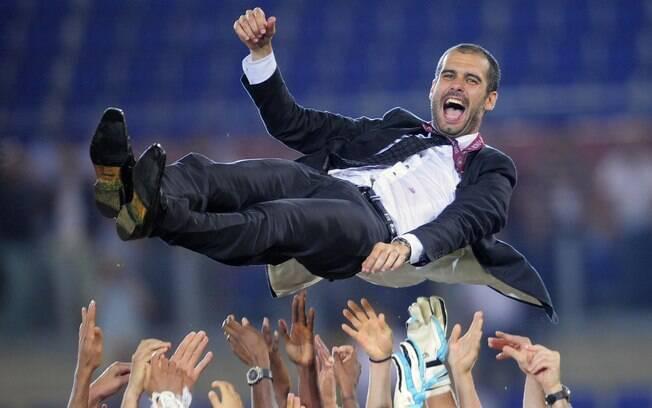 Existiram boatos da ida de Guardiola para o  Corinthians, após a sua saída do Barcelona