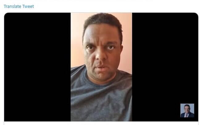 Deputado federal, vice-líder do governo, Otoni de Paula (PSC-RJ) publicou um vídeo xingando ministros do STF.