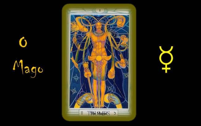 Previsão da semana do tarô de Toth indica o Arcano I: Mago