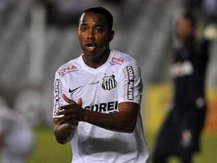 O atacante Robinho está de volta à seleção brasileira