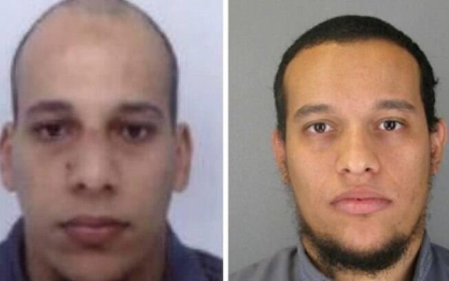 Os irmãos Said Kouachi e Cherif Kouachi: franceses de origem argelina treinados pela Al-Qaeda