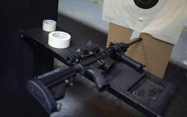 O AR-15 é considerado pela Associação Nacional do Rifle dos EUA como o fuzil 'favorito' no país