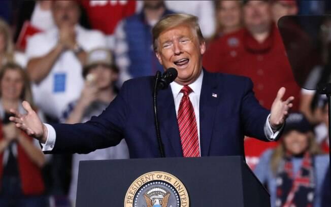 O presidente Donald Trump foi formalmente nomeado para concorrer à presidência pelo Partido Republicano.