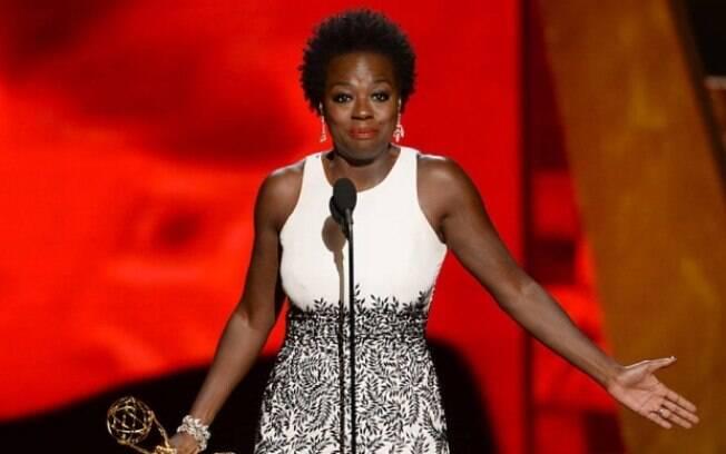 Discursos empoderados: Viola Davis discursou sobre a oportunidade das mulheres negras durante premiação do Emmy