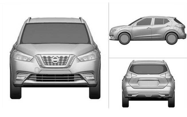 Na China, o Nissan Kicks será produzido em parceria com a Dongfeng e deve contar com motor 1.2 turbo de 116 cv.