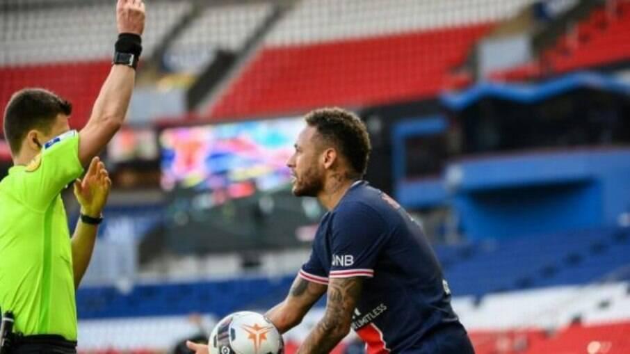 Neymar expulso