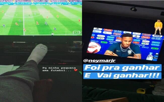 Bruno Gagliasso está empolgado com a Copa do Mundo