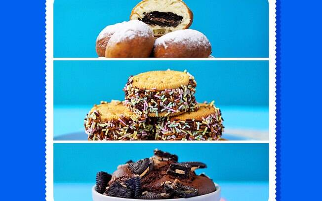 Há diversas receitas com biscoito Oreo para você que adora uma sobremesa diferente!